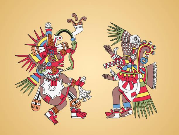 mitos aztecas para niños cortos